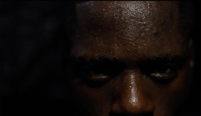 Karimah Ashadu, Sodoko Power Man (2018), Film still, HD, Digital film, Courtesy of the artist